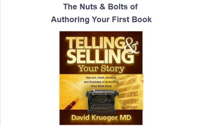The Nuts and Bolts of Authoring Your First Book